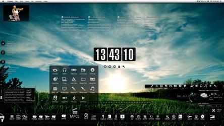 my desktop by Dizntart