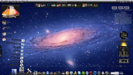 My dekstop update (Windows XP) by Dizntart