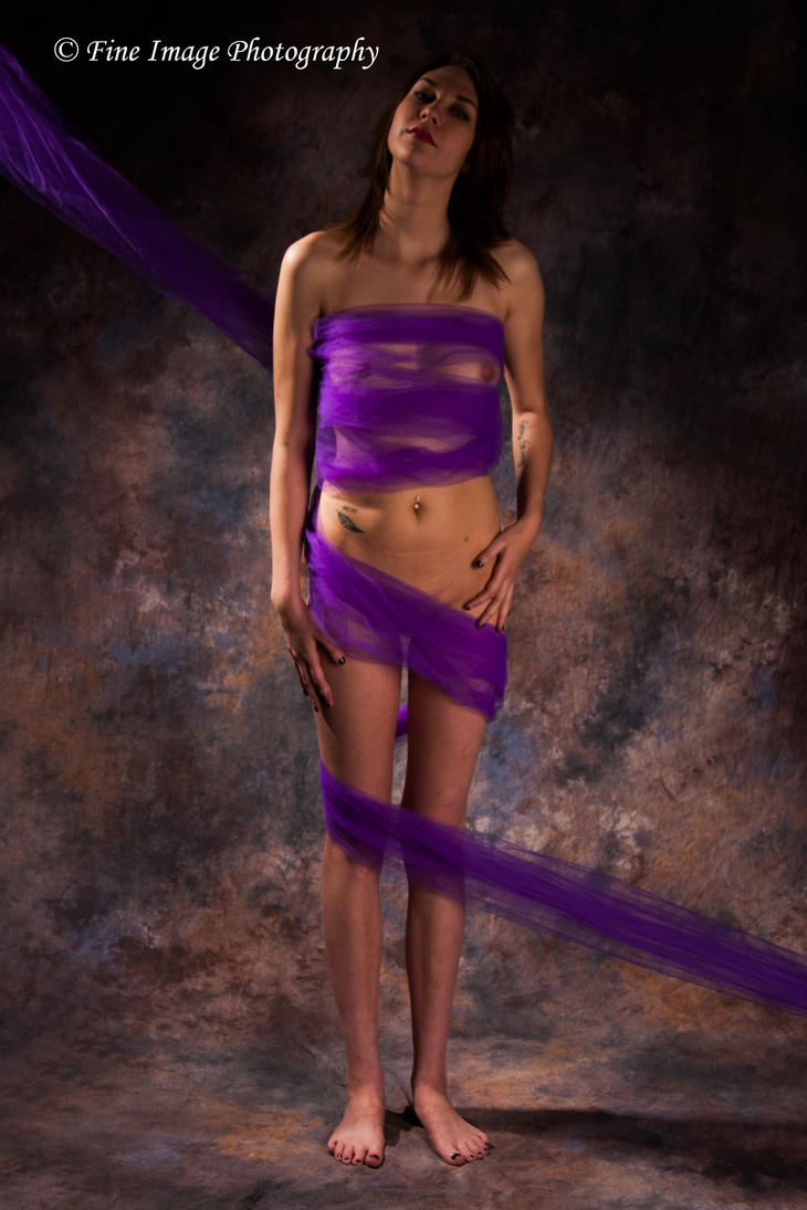Purple Wrap by fineimagephotography