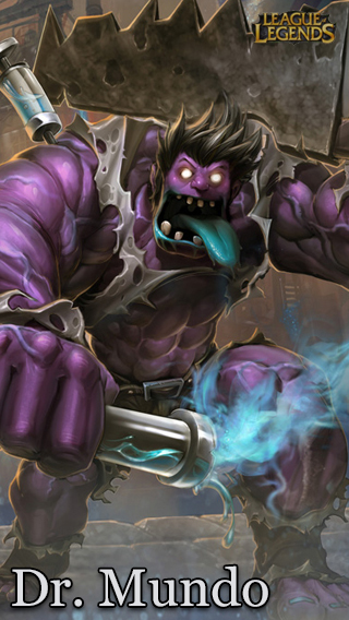 Dr Mundo - League Of Legends by UmbraDesigns