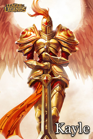 kayle league of legends by umbradesigns on deviantart