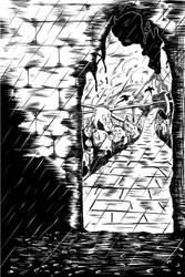Page from ASIRLIK TANRI Comic Book.
