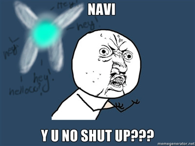 Y U NO NAVI? by Oneofwind