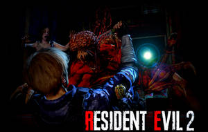 Resident Evil 2 Remake Wallpaper by Tyrant0400Tp