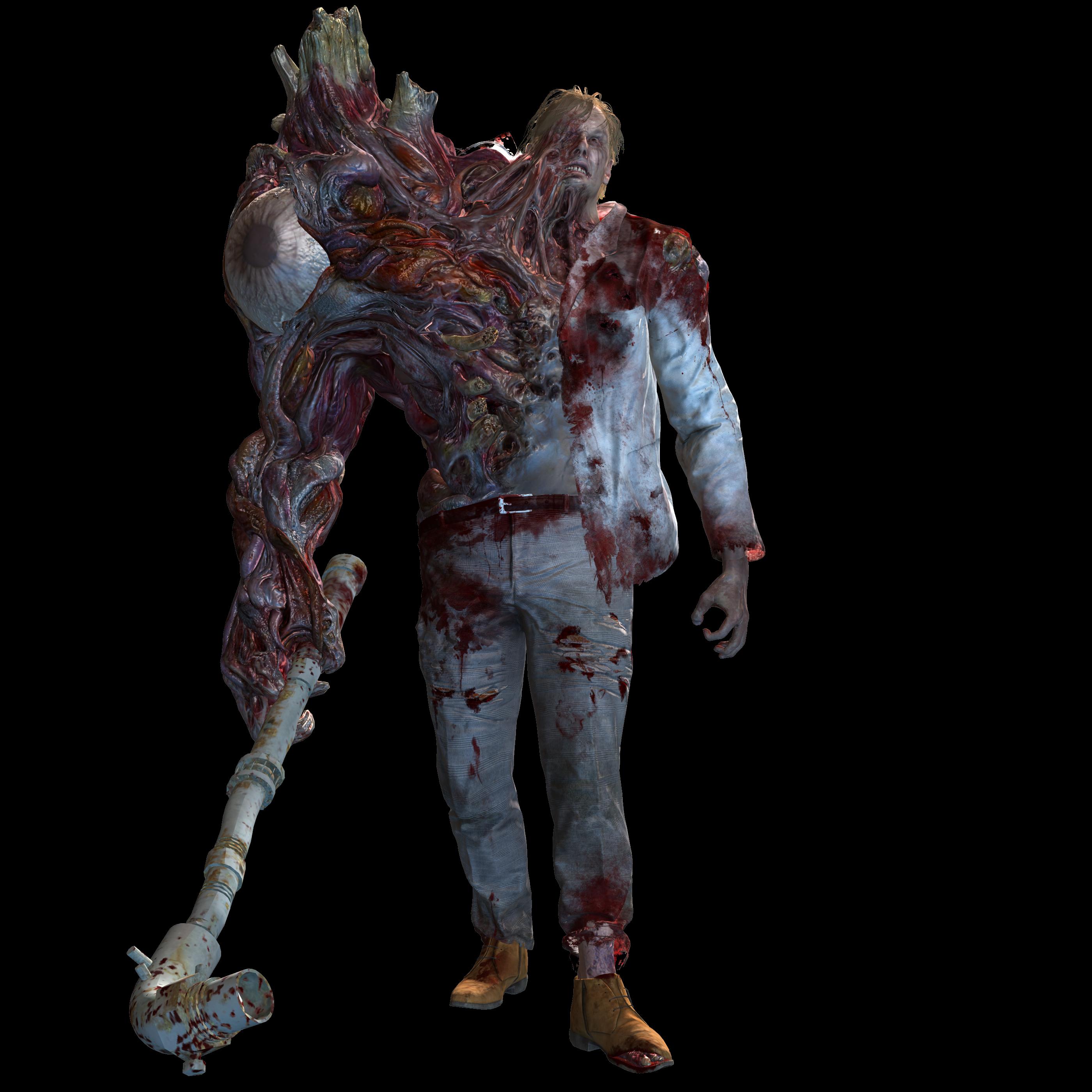 G Birkin Stage 1 Original Pose Resident Evil 2 By Tyrant0400tp