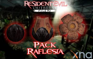 Resident Evil Outbreak File # 2 Rafflesia. Pack