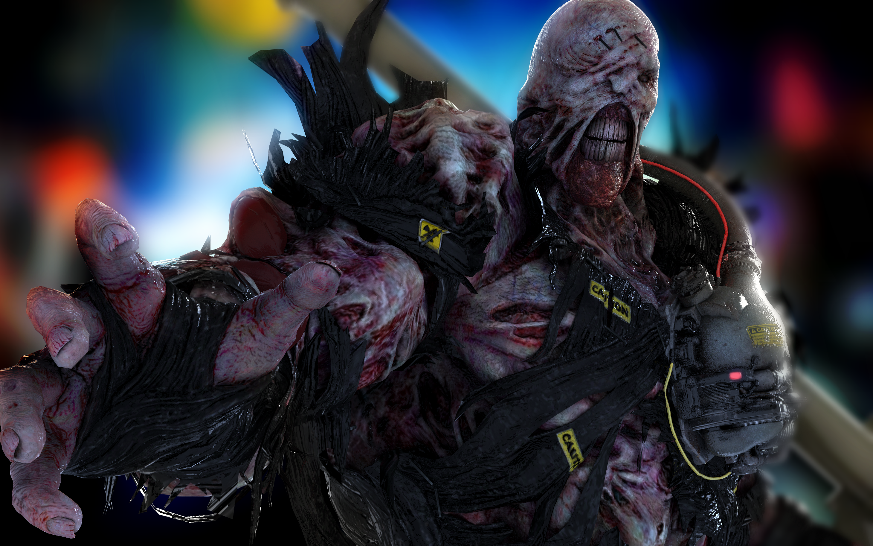 Re3 Remake Nemesis Wallpaper By Tyrant0400tp On Deviantart