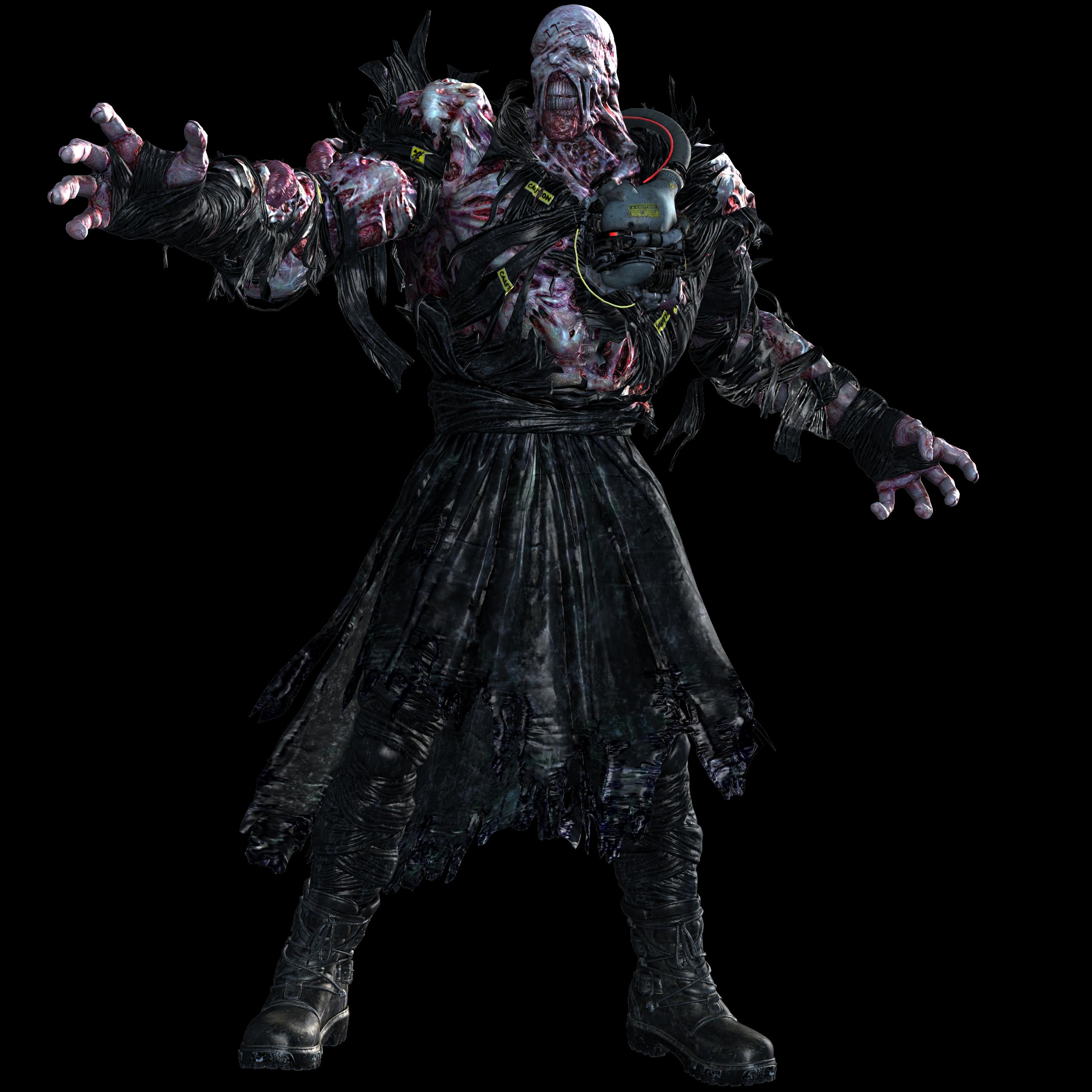 Nemesis Injured Resident Evil 3 Remake By Tyrant0400tp On Deviantart
