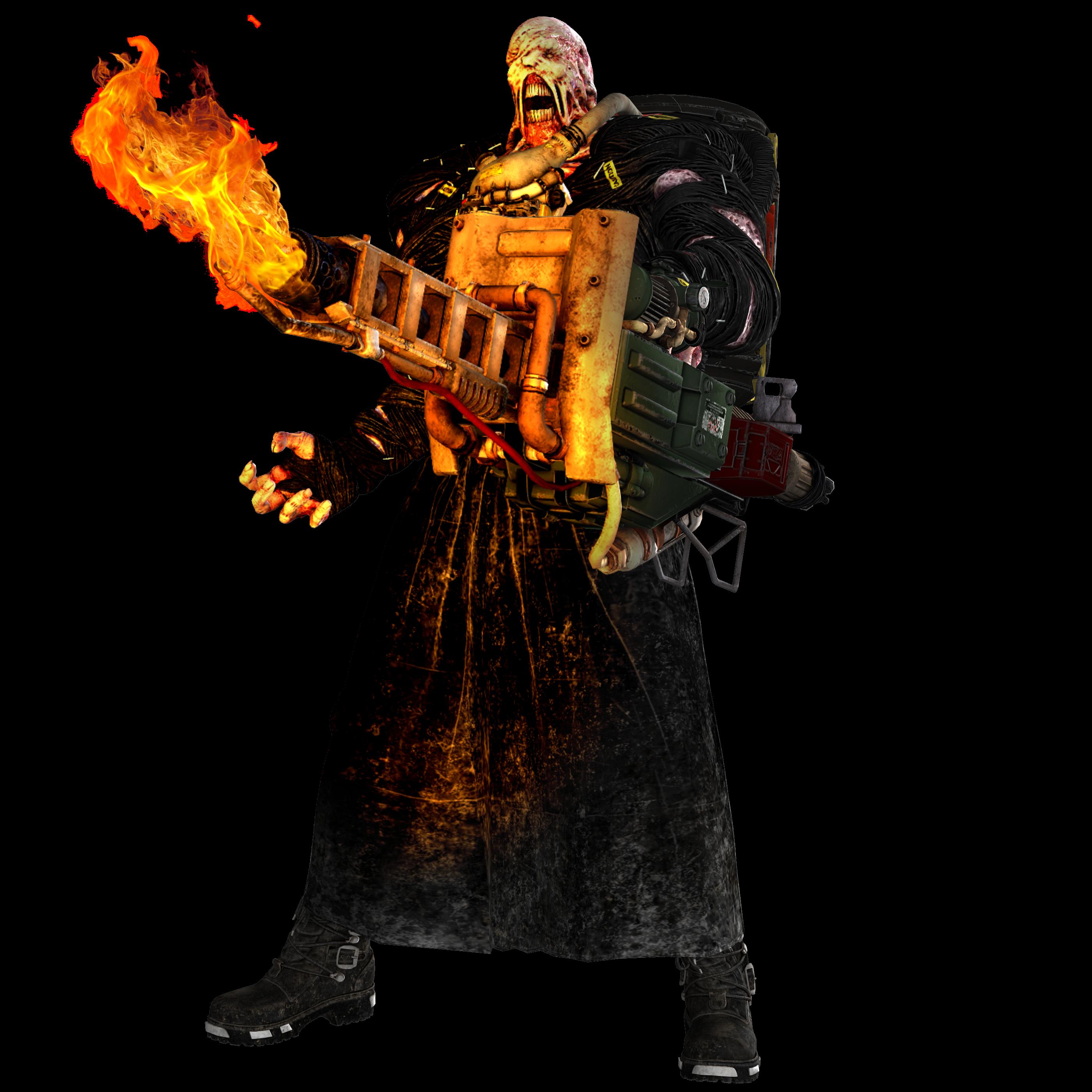 Resident Evil 3 Remake Nemesis Render By Tyrant0400tp On Deviantart