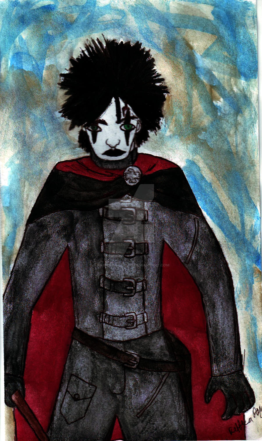 Harry Potter as the Crow by Raiderhater1013