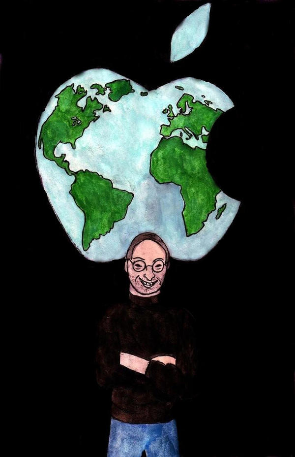 RIP Steve Jobs by Raiderhater1013