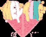 Logo Melting render