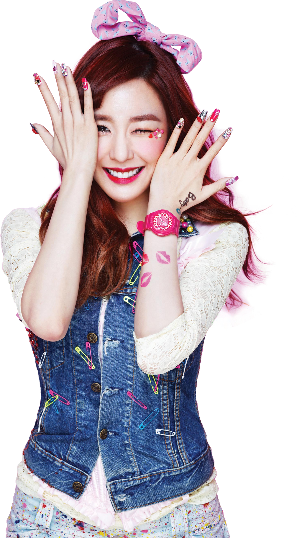 SNSD Kiss Me (Baby-G) Tiffany Render by classicluv on ...