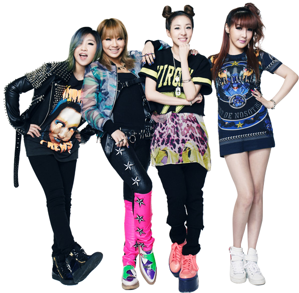 2NE1 - Render (png) by classicluv