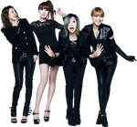 2NE1 - Render (png)