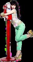 Hyuna (4minute) PNG Render
