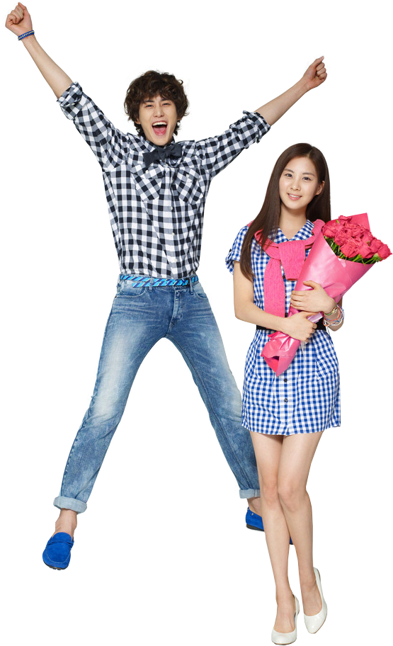 Kyuhyun and Seohyun PNG Render by classicluv