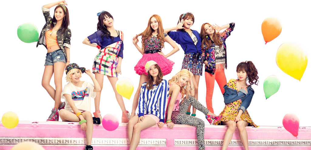 SNSD PNG Render by classicluv
