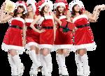 Wonder Girls PNG Render (X-MAS)