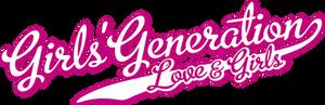 Girls' Generation - Love and Girls Logo
