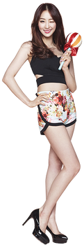 Dasom Sistar PNG Render by classicluv