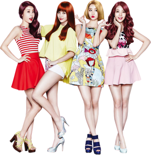 Girl's Day Render PNG