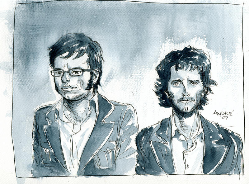 Flight of the Conchords by astrobrain