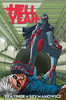 Hell Yeah issue 5 cover