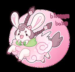 Blossom Babe - Aquaneau Adopt [OPEN] by Peach-n-Creme