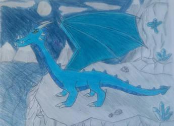 Ice Dragon by Arturo783