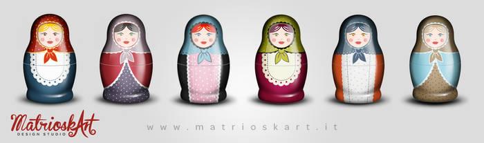 Matryoshkas by Matrioskart