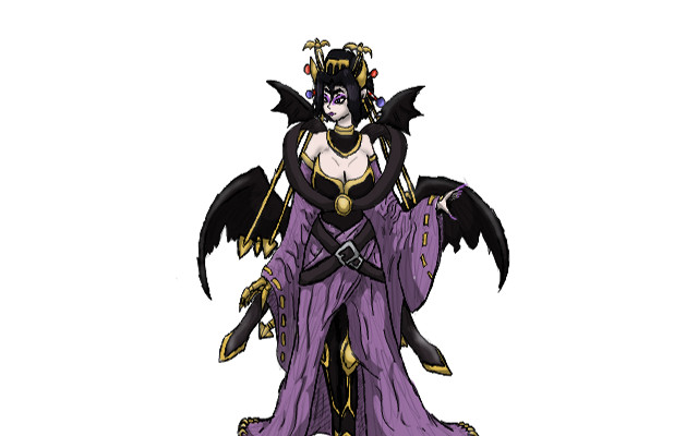 Pin Fused Lilithmon on Pinterest
