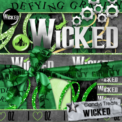 WICKED SCRAP KIT by candyass112