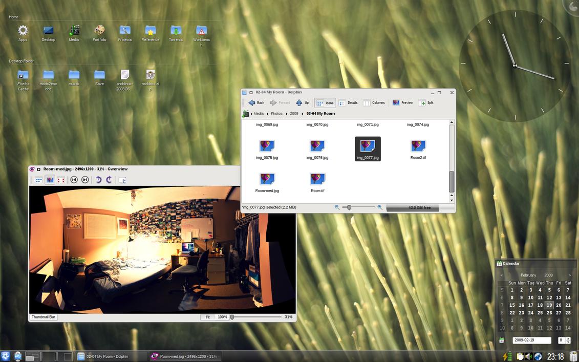 KDE 4.2 by daj