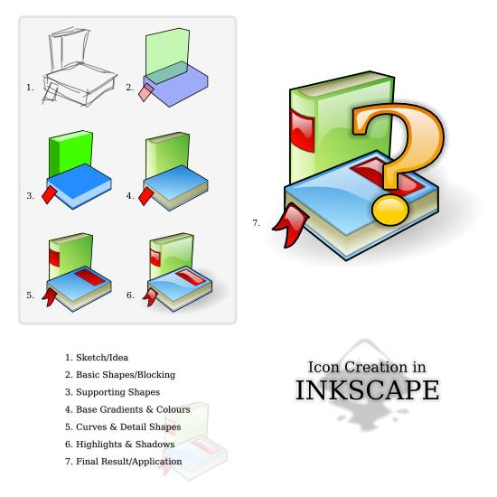 Icons in Inkscape - mini-tut