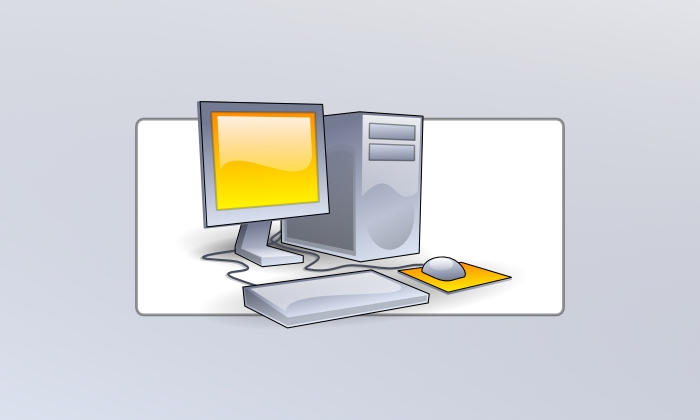 SVG Computer by daj