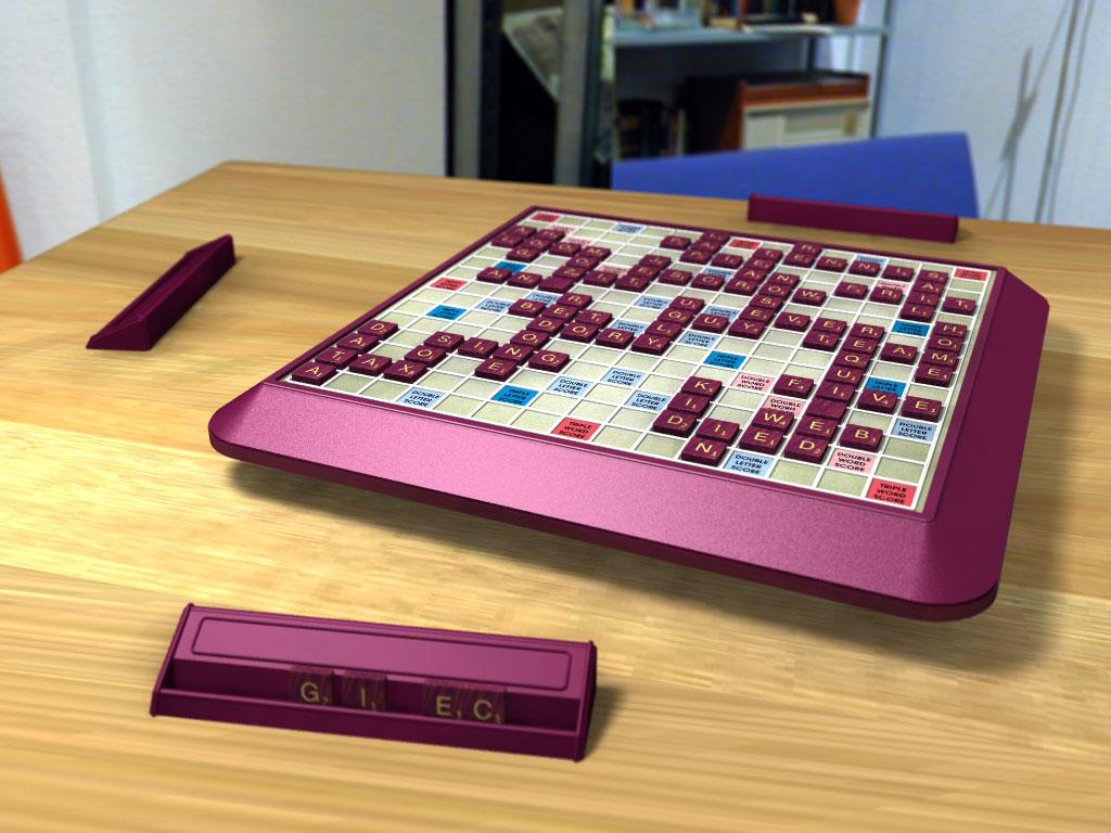 Scrabble by daj