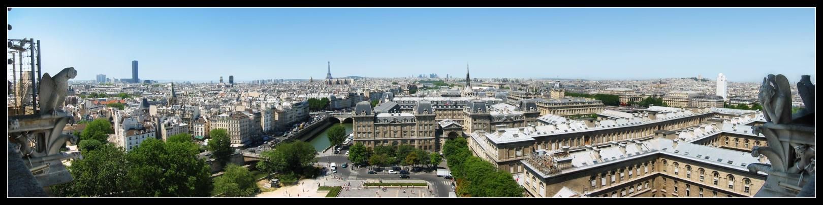 Paris Panoramic by daj