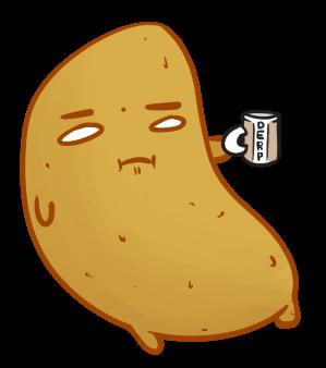 derpy Potato by Mol-icious