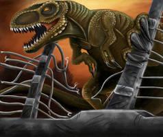 Jurassic Park poster by xDEVILISHxCHAOSx