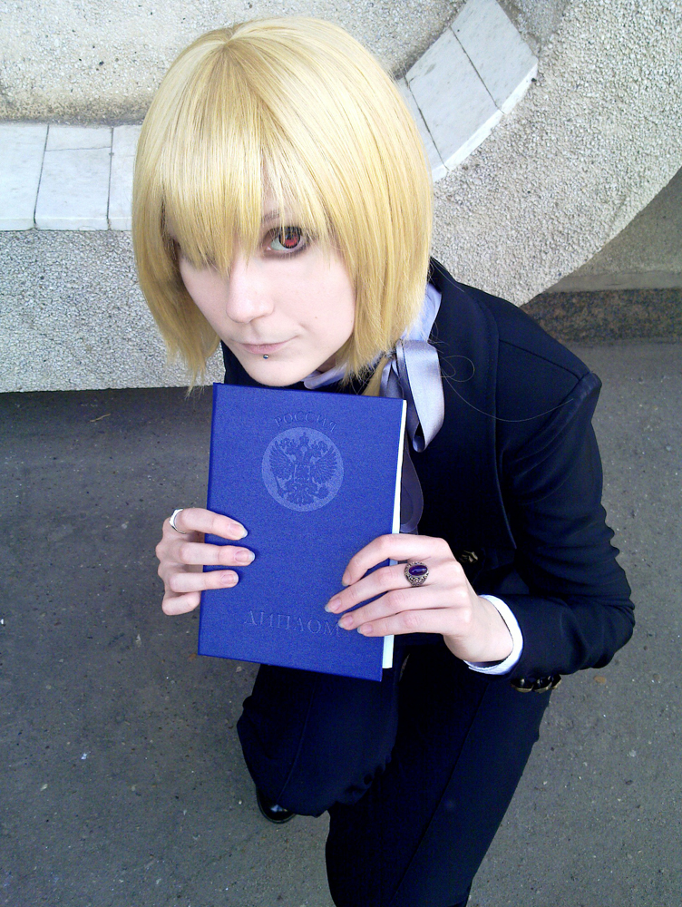 Me and my diploma by palecardinal