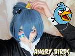 Angry Blue Bird test