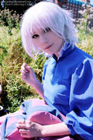 Howl's Moving Castle: my Sophie + my coat XD by palecardinal
