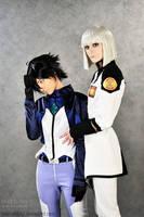 Gundam Friendship by palecardinal