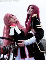 Utena + Touga: Cruel Love by palecardinal