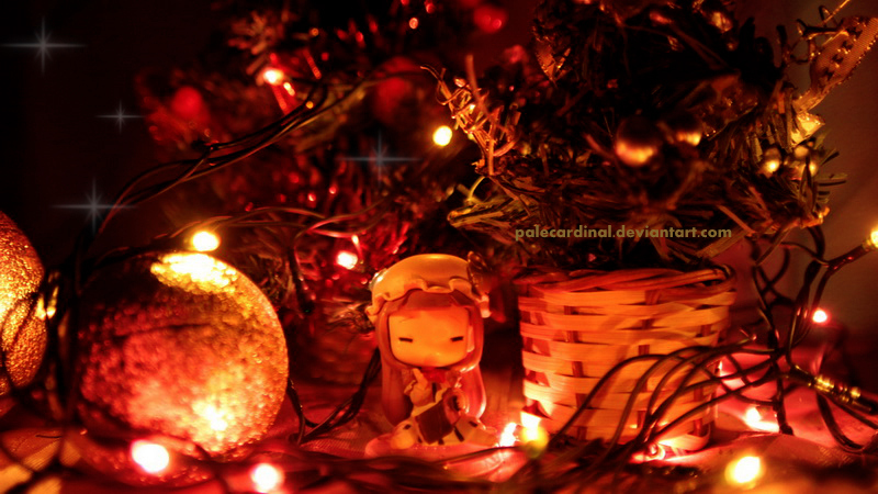 Magic Patchouli Christmas by palecardinal