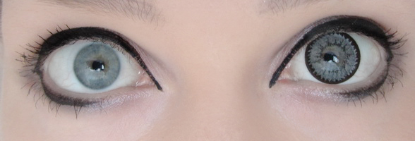 My eyes no lens/big eye lens by palecardinal