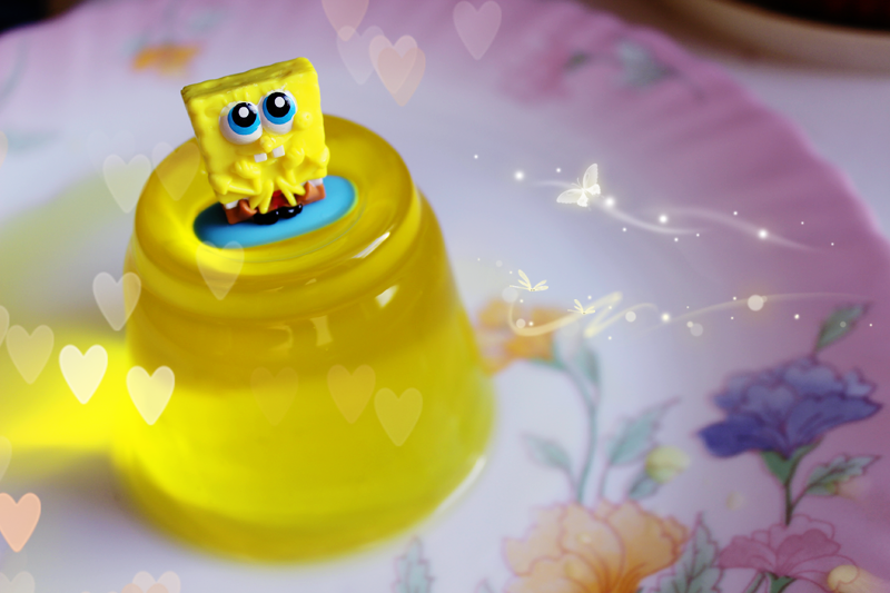 SpongeBob Lemon Jelly by palecardinal