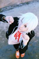 K Project: Kawaii Umbrella boy :3 by palecardinal