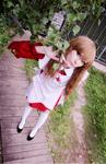 Mai HiME Otome - Shizuru Fujino cosplay